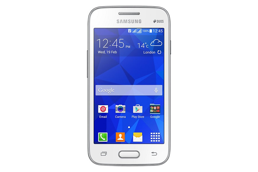 Samsung Galaxy V Plus - White