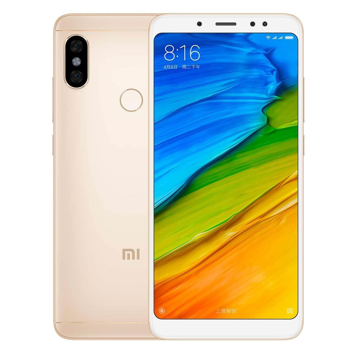 Xiaomi Redmi Note 5 - Gold