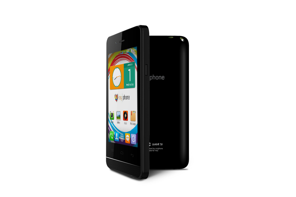 MyPhone Rio Junior - Black