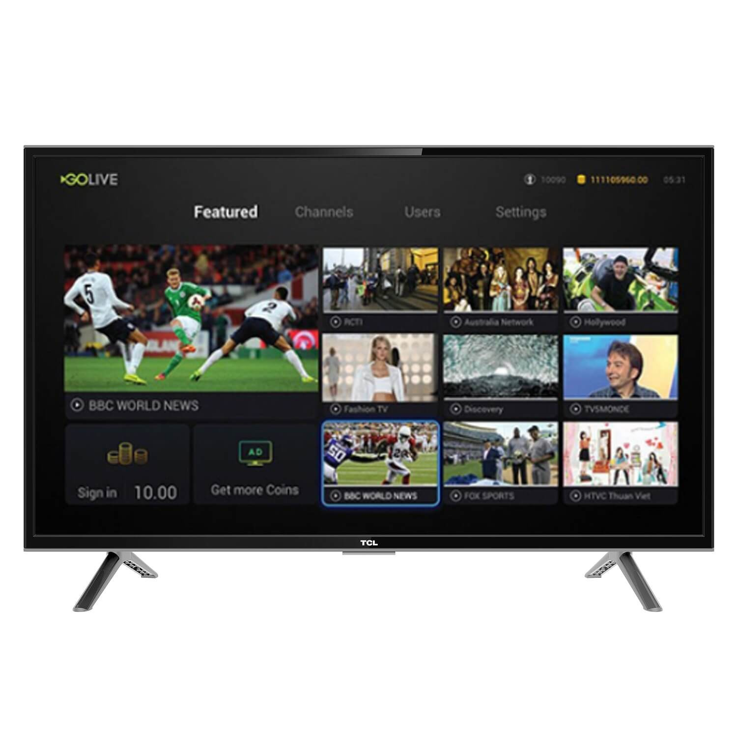 TCL 32-inch DIGITAL INTERNET TV - S4900 1