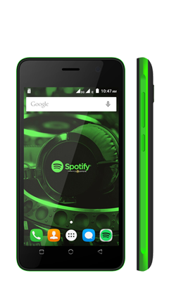Cloudfone Spotify Edition Lite