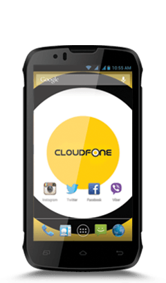 Cloudfone Thrill 430X - Black