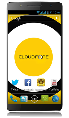 Cloudfone Thrill 600FHD - Black