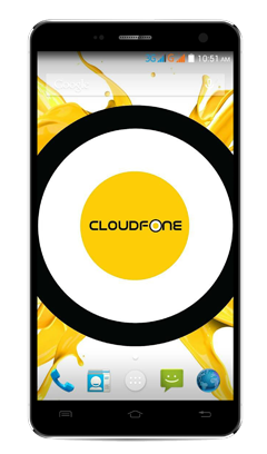 Cloudfone Thrill 601FHD - Black
