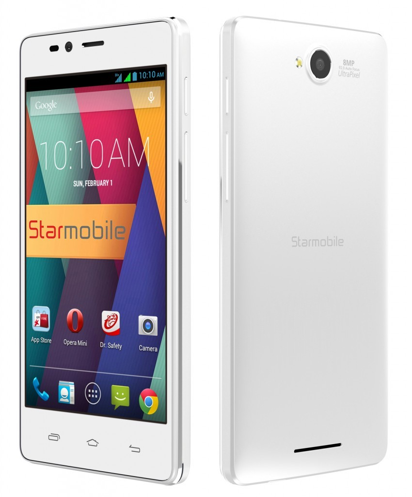 Starmobile UP Snap - White