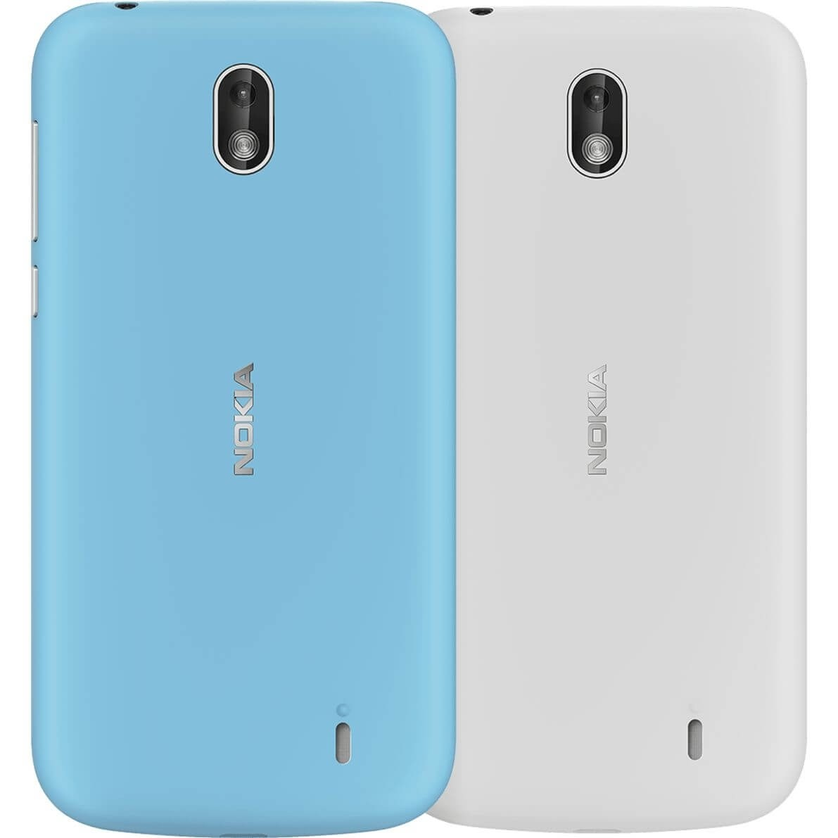 Nokia 1 Xpress-on Cover Dual Pack - Azure & Grey