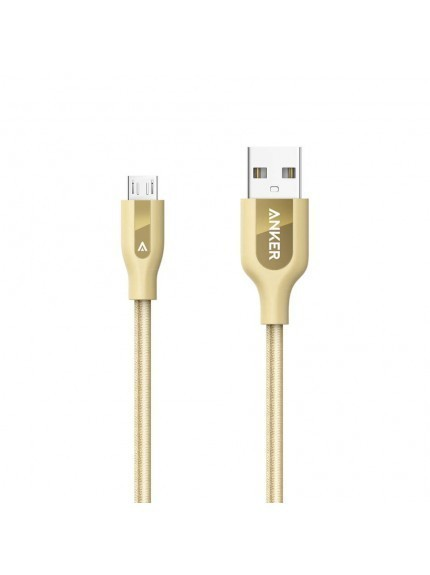 Anker Powerline+ Micro USB 3ft UN Golden