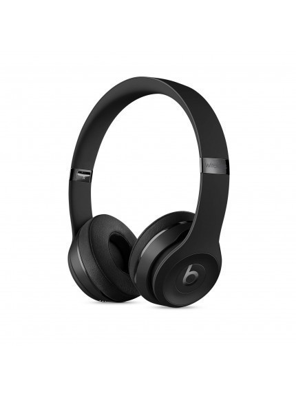 Apple Beats Solo3 Wireless On-Ear Headphones - Black 1
