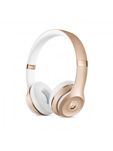Apple Beats Solo3 Wireless On-Ear Headphones - Gold 1