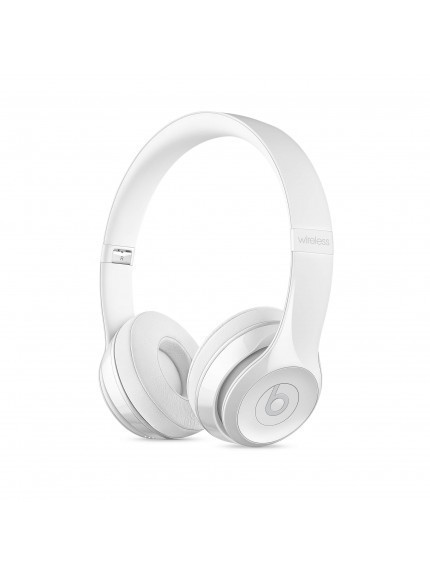 Apple Beats Solo3 Wireless On-Ear Headphones - Gloss White 1