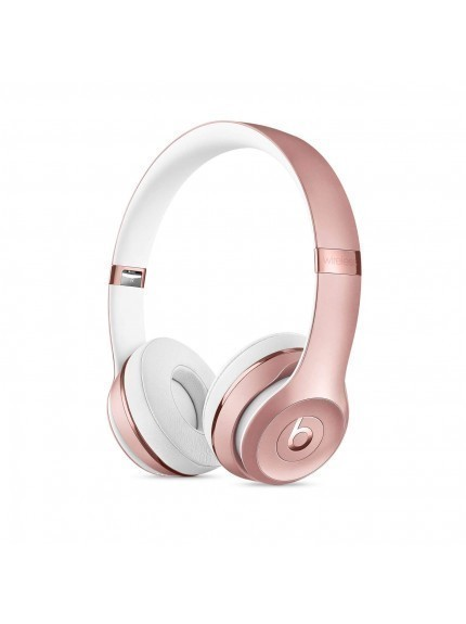 Apple Beats Solo3 Wireless On-Ear Headphones - Rose Gold 1