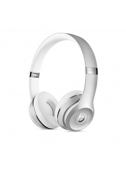 Apple Beats Solo3 Wireless On-Ear Headphones - Silver 1