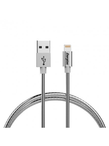 Energizer HighTech Ultra Strong Metallic Lightning USB Cable - C14UBLIGSL4