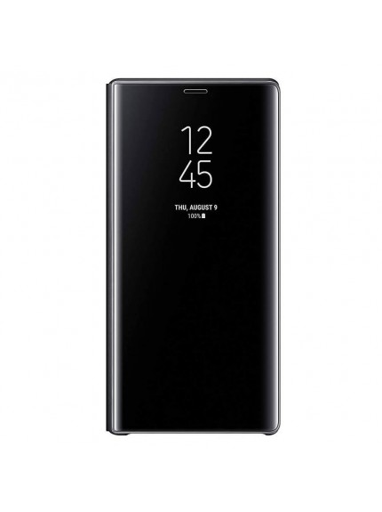 Samsung Clear View Standing Cover for Galaxy Note9 - Black