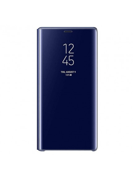 Samsung Clear View Standing Cover for Galaxy Note9 - Blue