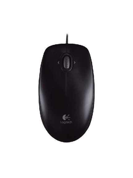 Logitech M100r Mouse - Black 1
