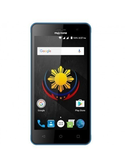 MyPhone My75 DTV - Black/Blue 1