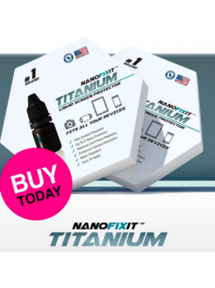 Nanofixit Titanium - liquid screen protector (10 devices)