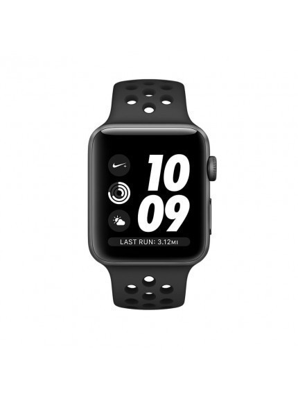 Apple Watch Nike+ GPS 42mm Space Gray Aluminium Case with Anthracite/Black Nike Sport Band