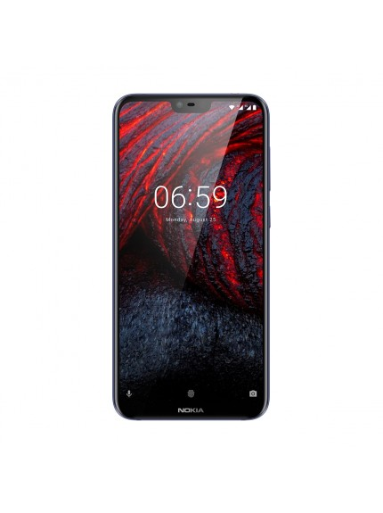 Nokia 6.1 Plus - Gloss Midnight Blue 1