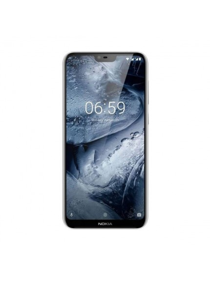 Nokia 6.1 Plus - Gloss White 1