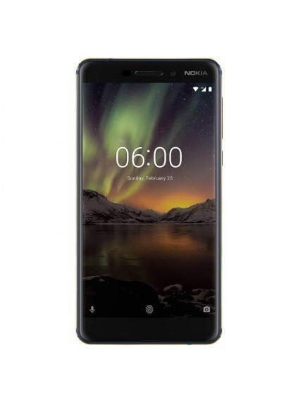 Nokia 6 (2018) - Blue/Gold