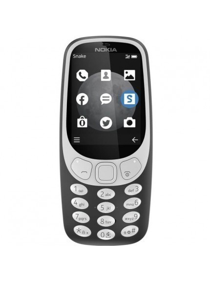Nokia 3310 3G - Charcoal