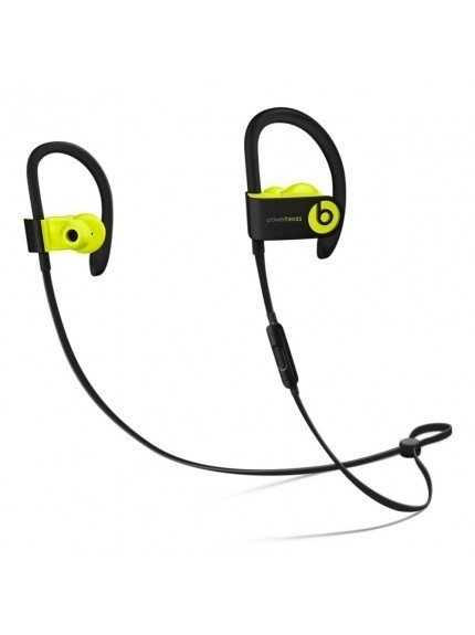 Apple Powerbeats3 Wireless Earphones - Shock Yellow 1