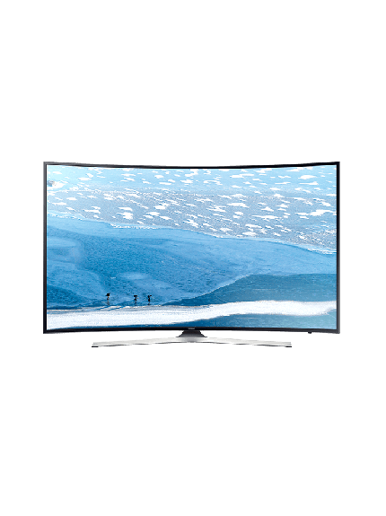 "Samsung 55"" KU6300 UHD 4K Curved Smart TV - 1"