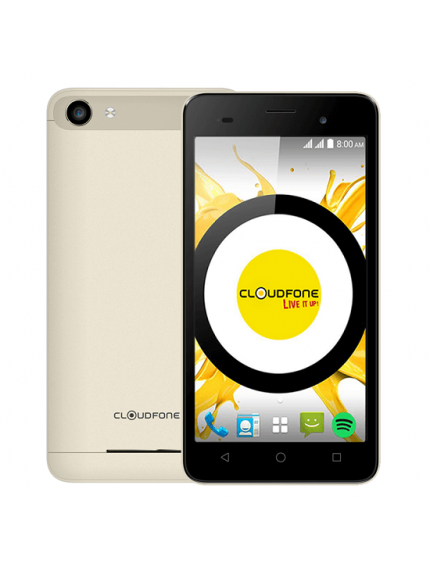 Cloudfone Thrill Boost - Gold 1