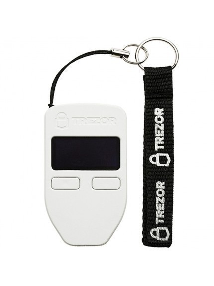 Trezor Bitcoin Wallet - White