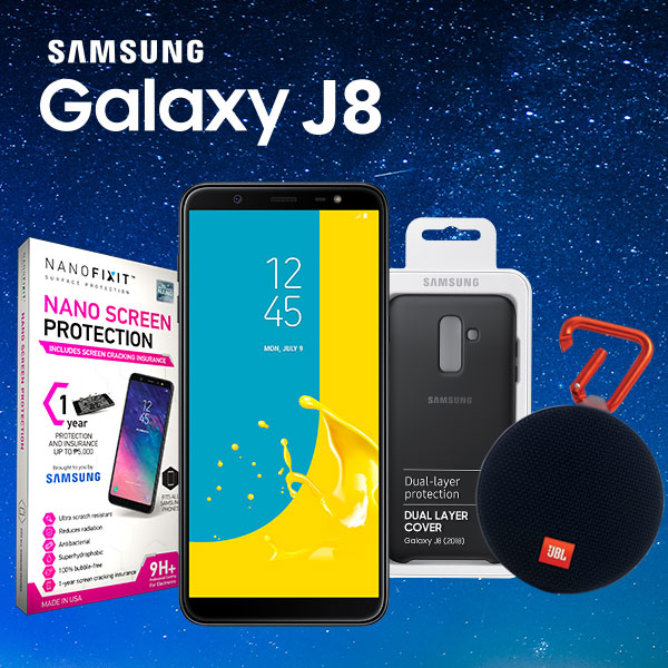Exclusive freebies and instant surprise await Samsung Galaxy J8 pre-orders thru Argomall