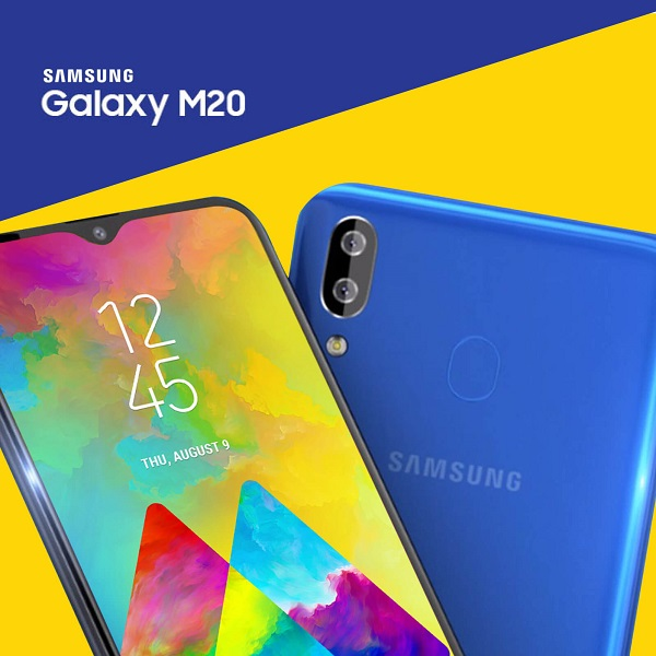 Get Samsung M20 at 0% interest exclusively at Argomall