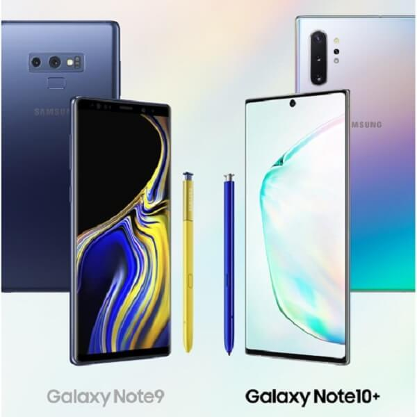 What's the difference between Galaxy Note 9 and Galaxy Note 10?